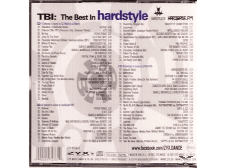 VARIOUS - The Best In Hardstyle [CD]