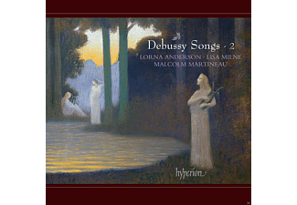 Lorna Anderson, Lisa Milne, Malcolm Martineau - Debussy Songs-2 - (CD)