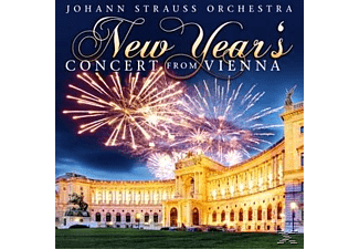 The Johann Strauss Orchestra - New Year s Concert From Vienna - (CD)