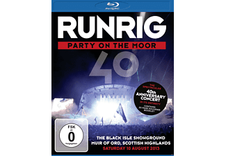 Runrig - Party On The Moor (The 40th Anniversary Concert) - (Blu-ray)