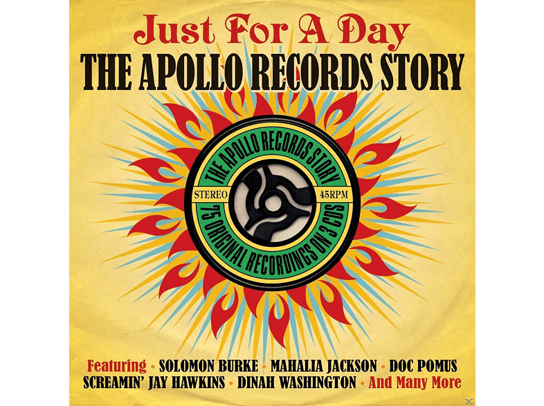 VARIOUS - Just For A Day - The Apollo Record Story [CD]