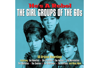 VARIOUS - He's A Rebel - The Girl Groups Of The 60s [CD]