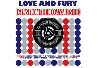 VARIOUS - Love & Fury Gems From The Decca Vaults 1961-1962 - (CD)