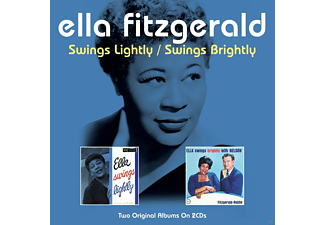 Ella Fitzgerald - Swings Lightly / Swings Bright - (CD)
