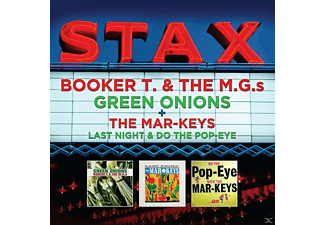 Booker T. & The M.G.'s, The Mar-Keys - Green Onions / Last Night & Do The Pop-Eye - (CD)