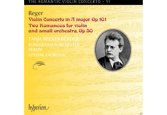 Lothar Zagrosek, Tanja Becker-bender, Konzerthausorchester Berlin - Romantic Violin Concerto Vol.11 - (CD)