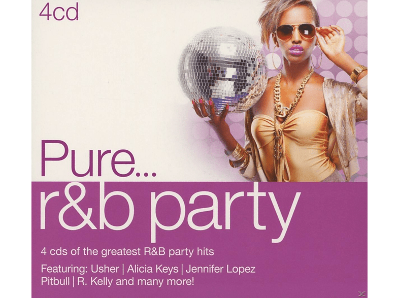 VARIOUS - Pure... R&B Party [CD]