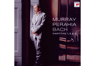 Perahia Murray - Partitas 1, 5 & 6 - (CD)