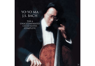 Yo-Yo Ma - Bach: Unaccompanied Cello Suites - (CD)