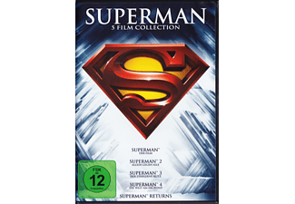 Superman - Die Spielfilm Collection - (DVD)