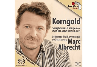 Marc & Orchestre Philharmonieque De Strabourg Albrecht, M. & ORCHESTRE PHILHARMONIQUE DE STRASBOURG Albrecht - Sinfonie op.40/Much ado about nothing - (SACD Hybrid)