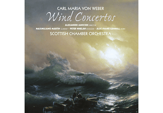 Maximiliano Martin, Peter Whelan, Alec Frank-gemmill, Scottish Chamber Orchestra - Wind Concertos - (SACD Hybrid)