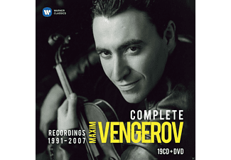 Maxim Vengerov - Complete Recordings 1991-2007 - (CD + DVD Video)