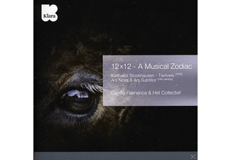 Capilla Flamenca & Het Collectief - 12 x 12 - A Musical Zodiac - (CD)