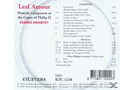 Egidius Kwartet - Flemish Composers At The Court Of Philip II [CD]