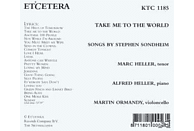 Heller,M./Heller,A./Ormandy,M. - Take Me To The World [CD]