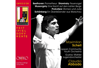 Maximilian Schell, European Community Youth Orchestra, Gustav Mahler Jugendorchester - Claudio Abbado In Memoriam - (CD)