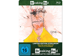 Breaking Bad - Staffel 4 (Limited Steelbook) - (Blu-ray)
