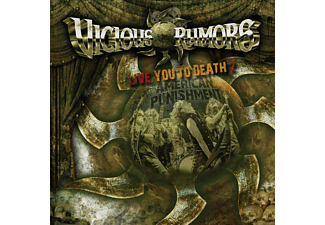 Vicious Rumors - Live You To Death 2 - American Punishment - (CD)