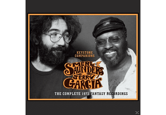 Jerry Garcia, Merl Saunders - Keystone Companions - The Complete 1973 Fantasy Recording - (CD)