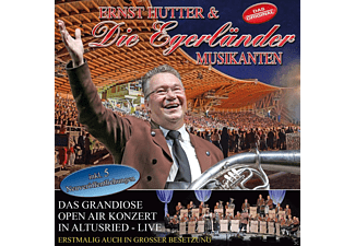 Ernst & Die Hutter, Die Egerländer Musikanten - Das Grandiose Open Air In Altusried - Live - (CD)