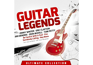 VARIOUS - Guitar Legends-Ultimate Coll - (CD)