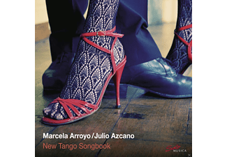 Julio  Azcano, Marcela Arroyo - New Tango Songbook - (CD)