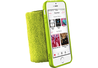 PURO Running Wristband iPhone 5/5S Lime Green