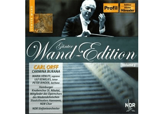 Ndr Sinfonieorchester, Günter Wand - Günter Wand Edition Vol 5. Carmina Burana - (CD)