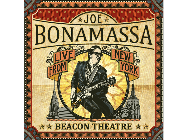 Joe Bonamassa - BEACON THEATRE - LIVE FROM NEW YORK [CD]