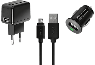 SBS MOBILE USB charger kit with micro USB cable