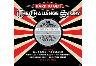 VARIOUS - Hard To Get-The Chall [CD]