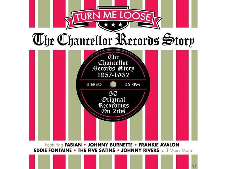 VARIOUS - Turn Me Loose: The Chancellor Records Story 1957-1963 [CD]