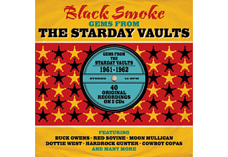 VARIOUS - Black Smoke - Gems From Starday Vaults 1961-62 - (CD)
