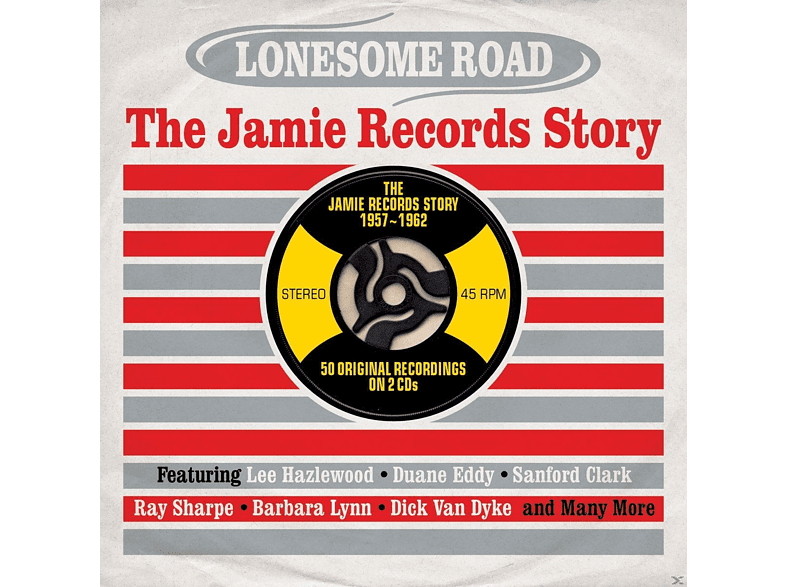 VARIOUS - Lonesome Road-The Jamie Records Story [CD]