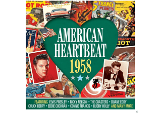 VARIOUS - American Heartbeat 1958 - (CD)