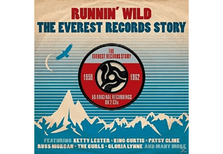 VARIOUS - Runnin' Wild-Everest Records Story 1959-1962 [CD]