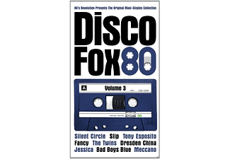 VARIOUS - Disco Fox 80 Vol.3-The Orig - (CD)