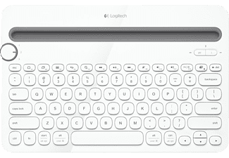LOGITECH Multi-Device Keyboard K480 White