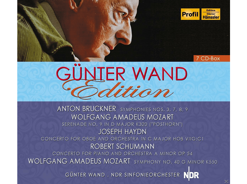 Günter Wand, NDR Sinfonieorchester - Günter Wand Edition [CD]
