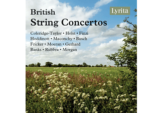 VARIOUS - British String Concertos - (CD)
