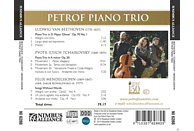 Petrof Piano Trio - Klaviertrios [CD]