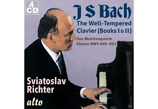 Richter Svjatoslav - The Well-Tempered Clavier (Books I & II)) - (CD)