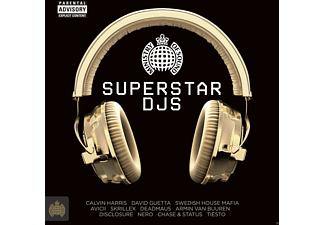 VARIOUS - Superstar Djs - (CD)
