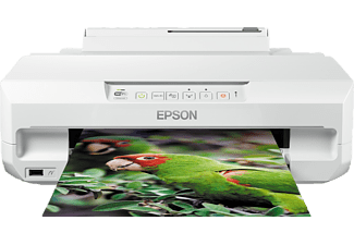 EPSON Expression Photo XP-55, Tintenstrahldrucker, Weiß
