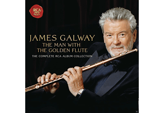James Galway, VARIOUS - The Man With The Golden Flute - (CD)