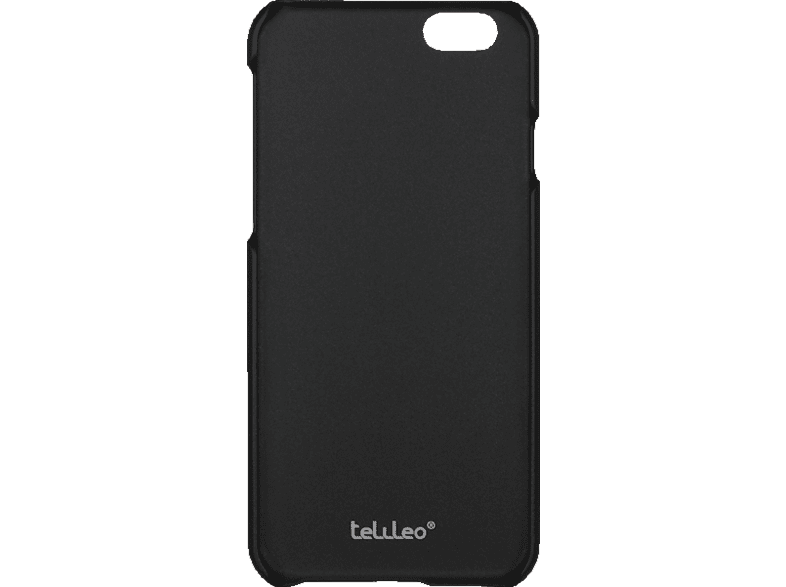 TELILEO 0088 Backcover Apple iPhone 6 Plus Polycarbonat Schwarz