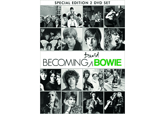 David Bowie - Becoming Bowie - (DVD)