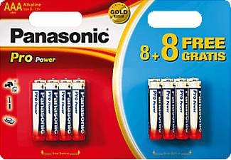 PANASONIC BATTERY Piles AAA 8+8 (LR03PPG)