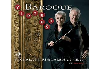 HANNIBAL,LARS & PETRI,MICHALA - Baroque Virtuoso - (CD)